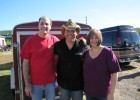 Sean Patrick McGraw with Dave Silvers & his wife Sandy, HALO Hoedown, 9-16-12